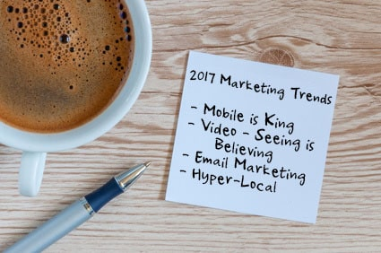 Top Marketing Trends for 2017