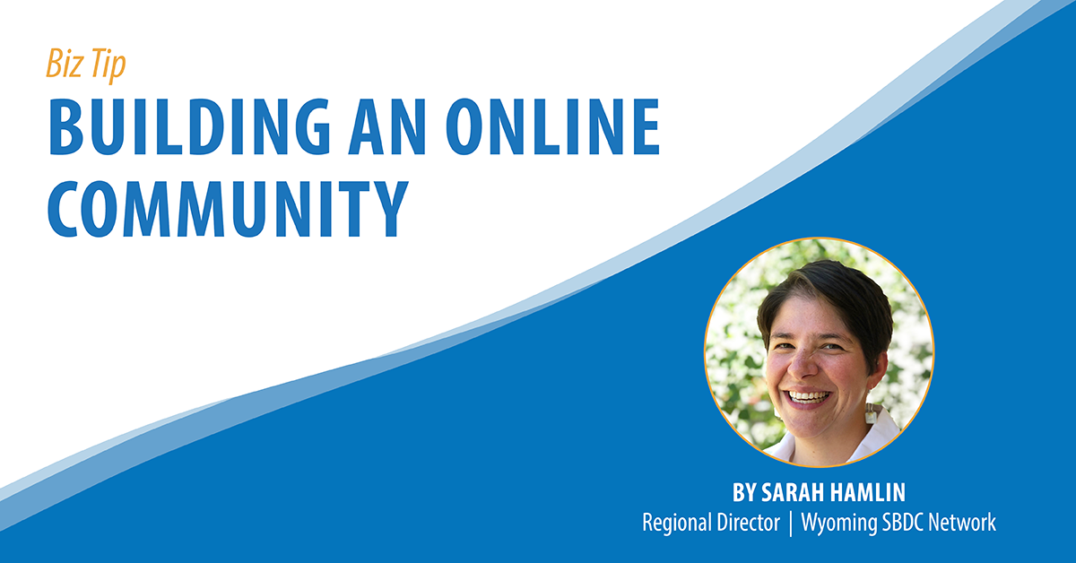 Building an Online Community