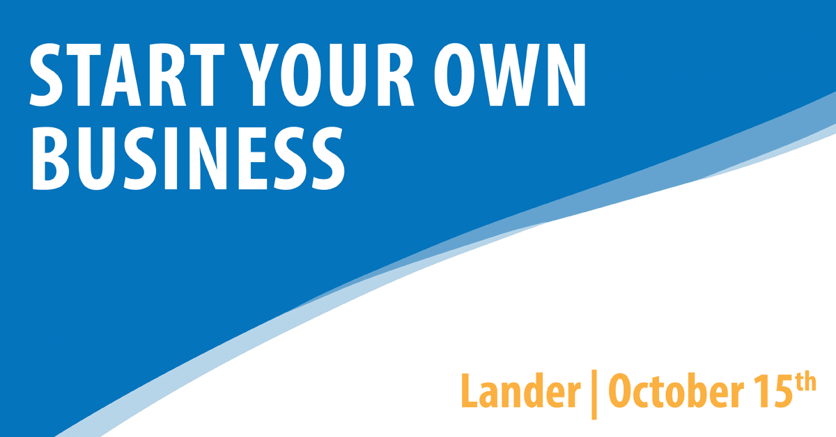 Start Your Own Business - Lander
