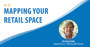 Mapping Your Retail Space biz tip banner