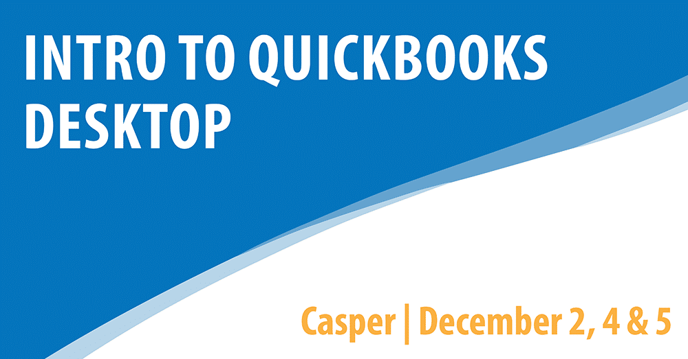 Intro to Quickbooks Desktop
