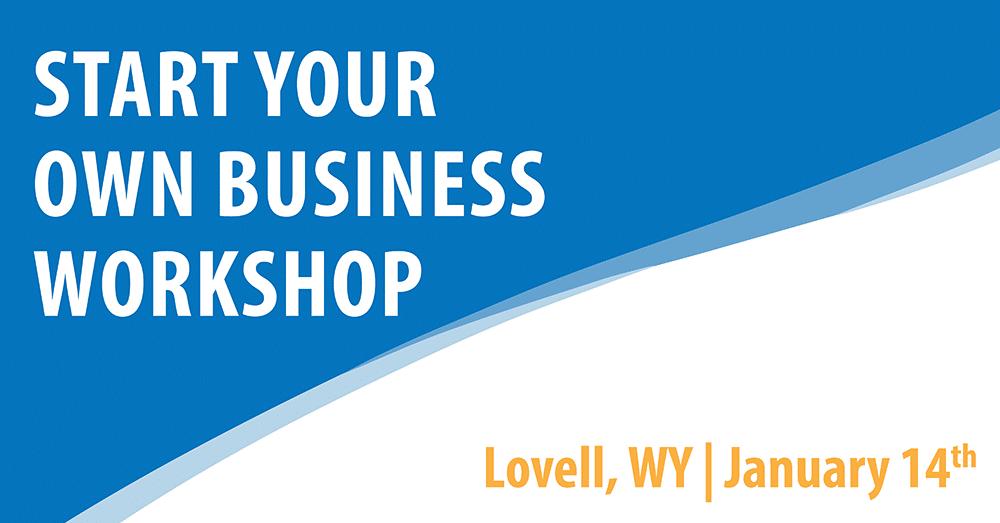 Start Your Own Business - Lovell