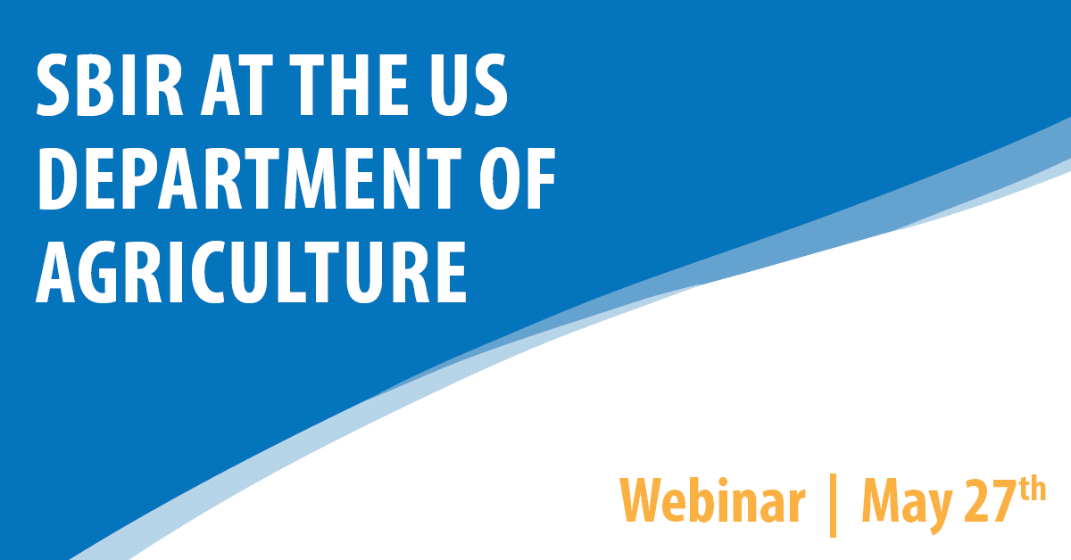 SBIR at the US Department of Agriculture