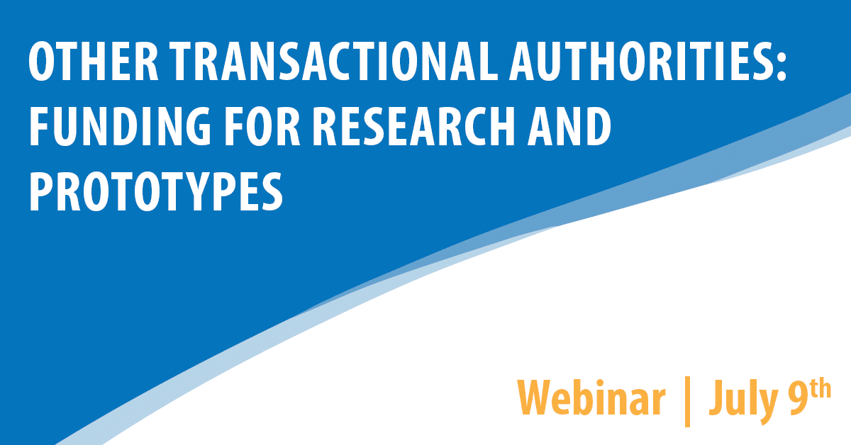 Other Transactional Authorities: Funding for Research and Prototypes