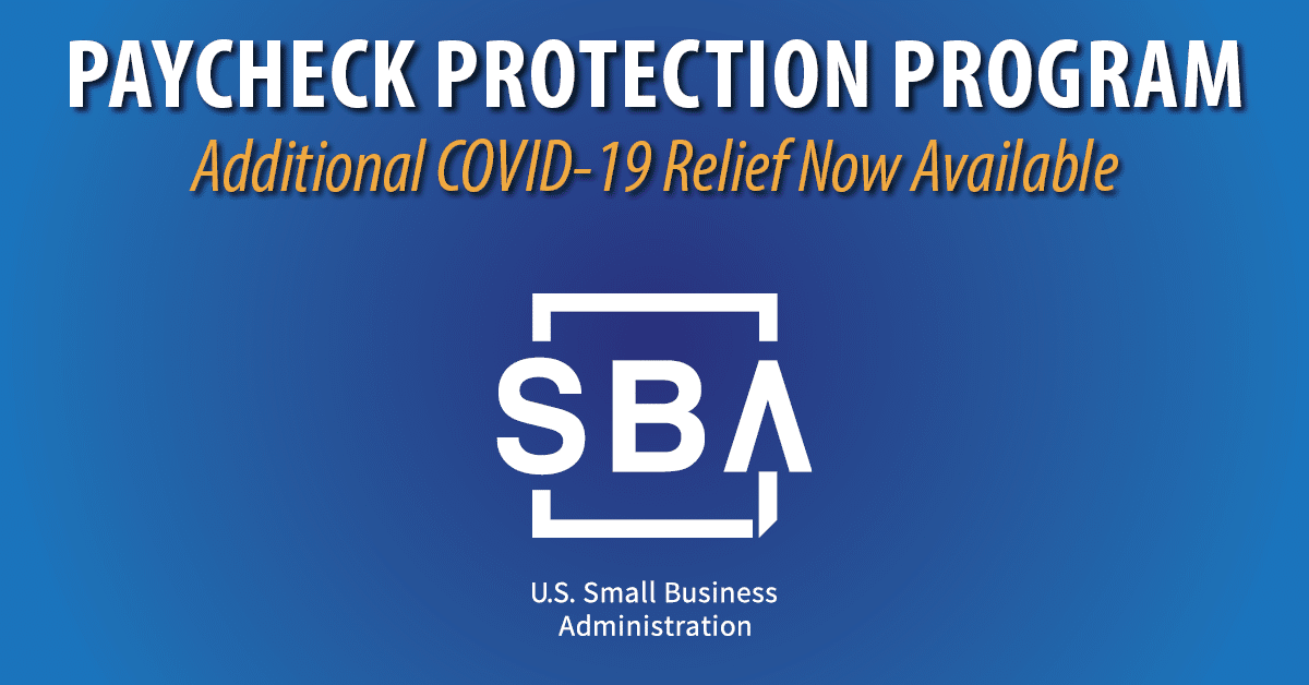SBA's Paycheck Protection Program Launches