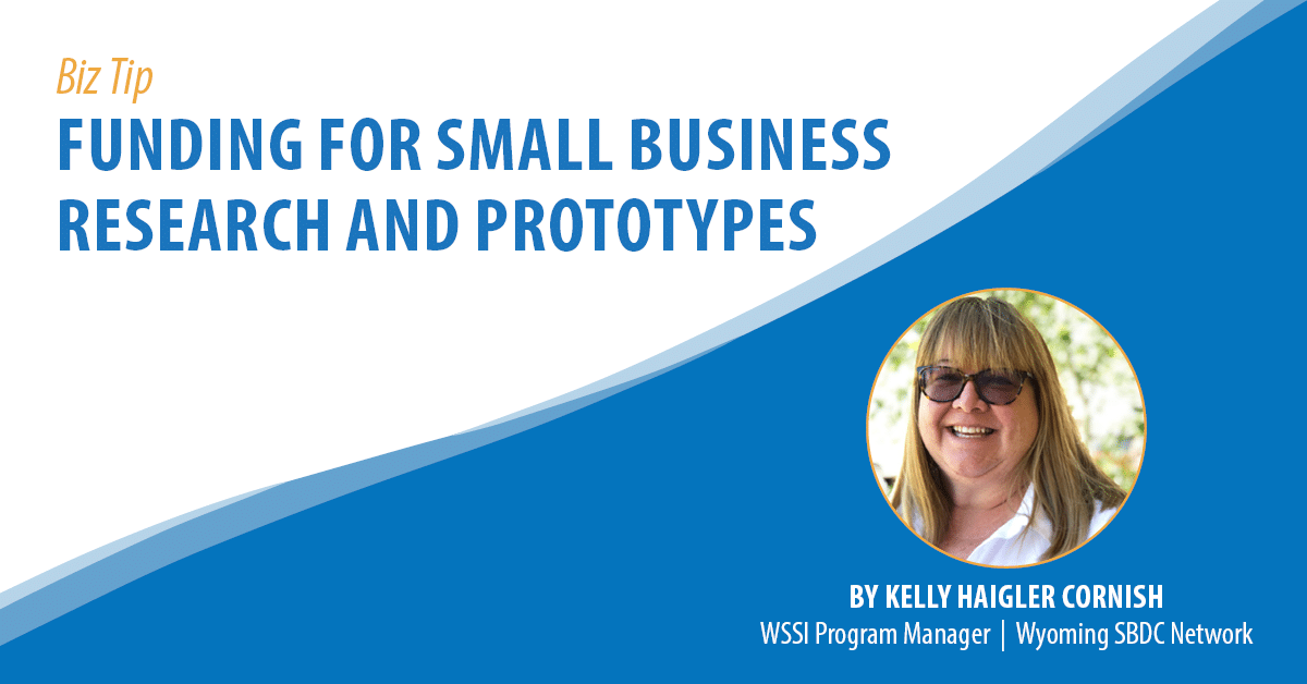 Funding for Small Business Research and Prototypes