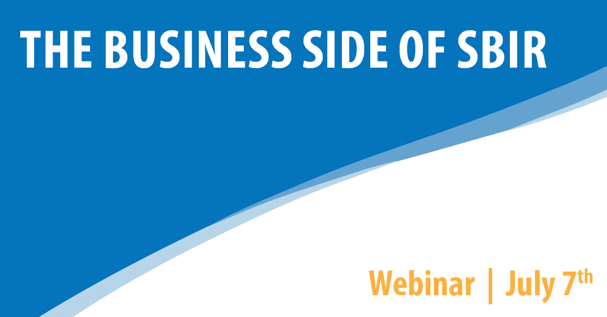 The Business Side of SBIR
