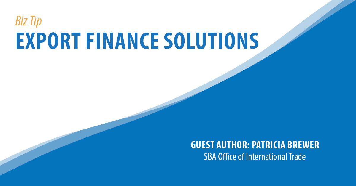 Export Finance Solutions
