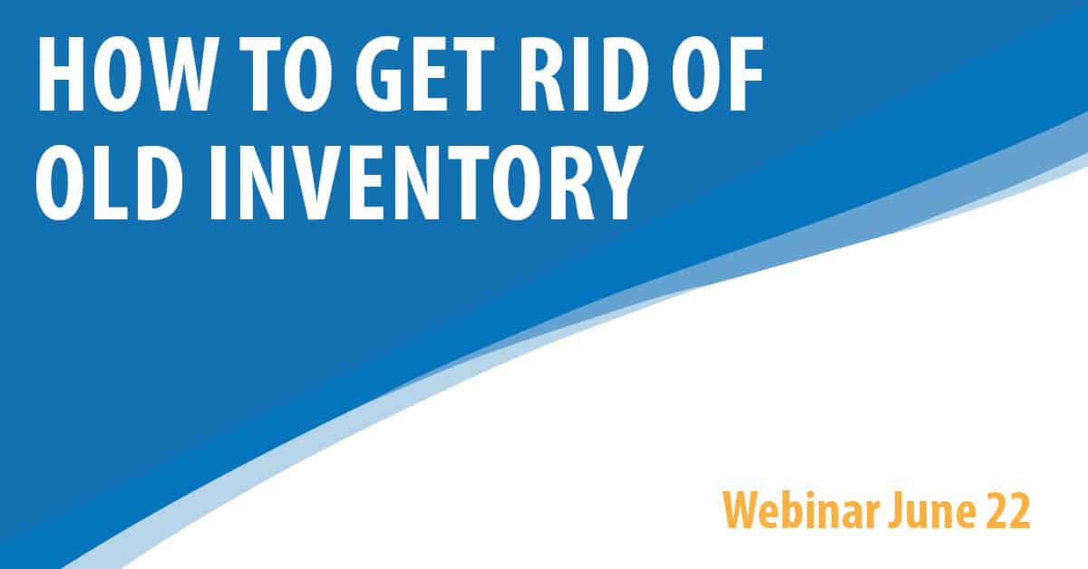 How To Get Rid Of Old Inventory