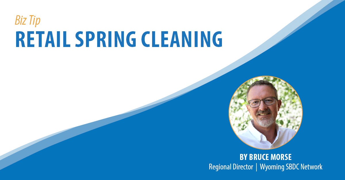 Retail Spring Cleaning