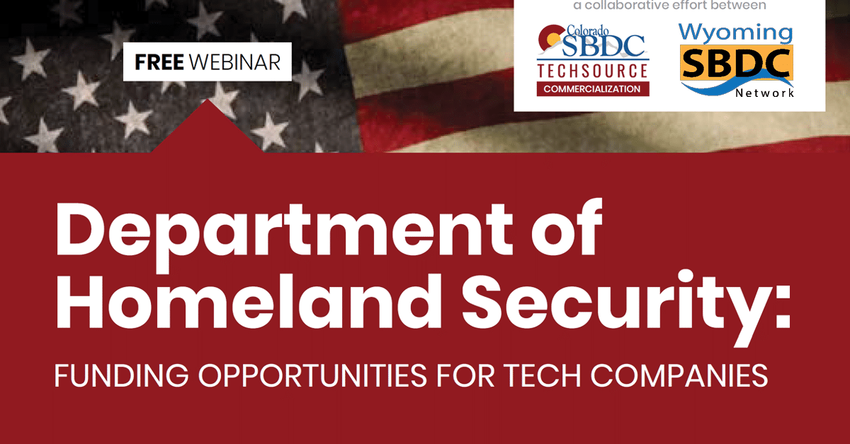 Department of Homeland Security: Funding Opportunities for Tech Companies